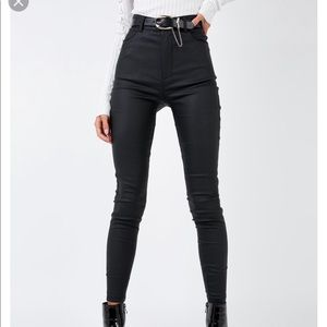 Princess Polly faux leather pants